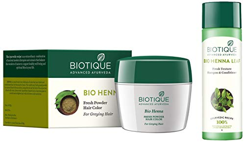 biotique hair color