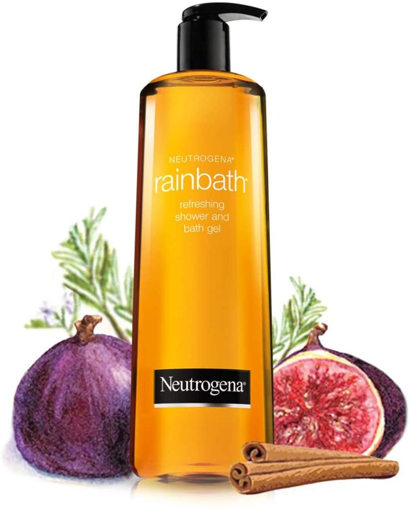 neutrogeena rainbath body wash