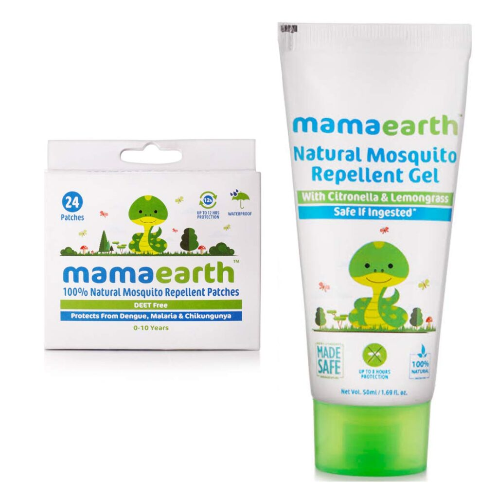 Mosquito Repellent Patch by Mamaearth